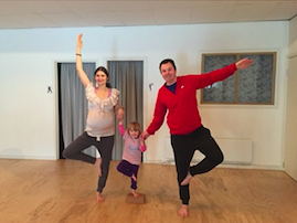 Family yoga and movement image